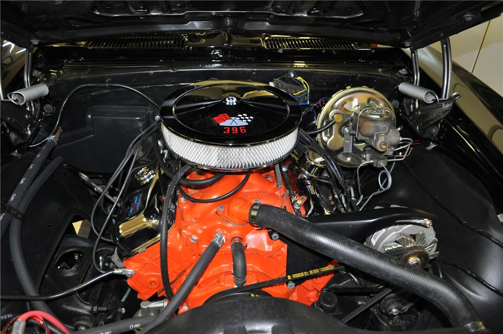 1967 CHEVROLET CAMARO CUSTOM CONVERTIBLE - Engine - 97063