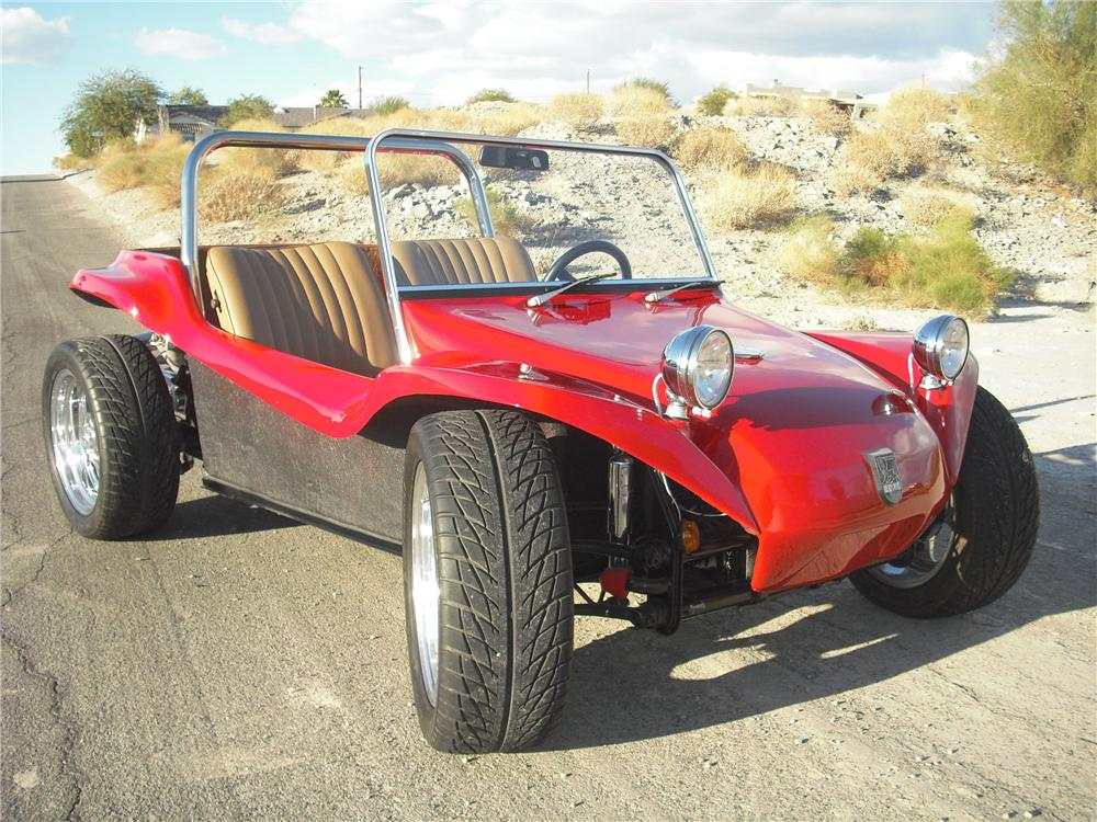 2002 MEYERS MANX CUSTOM DUNE BUGGY - Front 3/4 - 97065