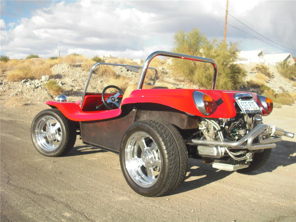 2002 MEYERS MANX CUSTOM DUNE BUGGY - Rear 3/4 - 97065