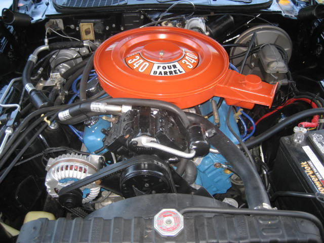 1972 DODGE CHALLENGER R/T 2 DOOR HARDTOP - Engine - 97069