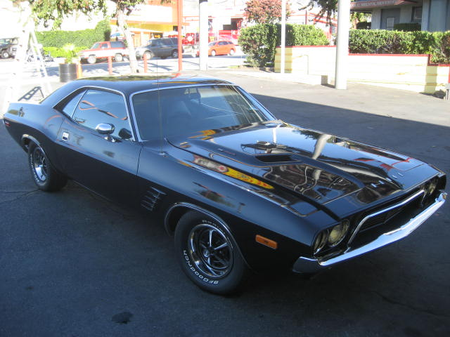 1972 DODGE CHALLENGER R/T 2 DOOR HARDTOP - Side Profile - 97069