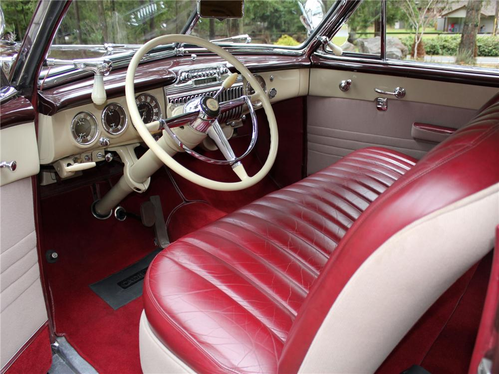 1947 CADILLAC SERIES 62 CONVERTIBLE - Interior - 97071