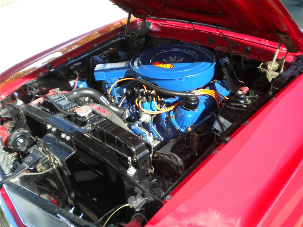 1969 FORD MUSTANG CUSTOM FASTBACK - Engine - 97076