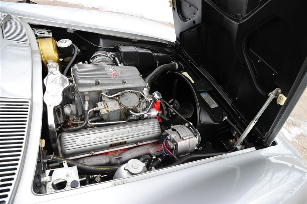 1963 CHEVROLET CORVETTE CONVERTIBLE - Engine - 97079