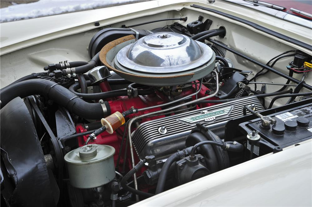 1956 FORD THUNDERBIRD CONVERTIBLE - Engine - 97081