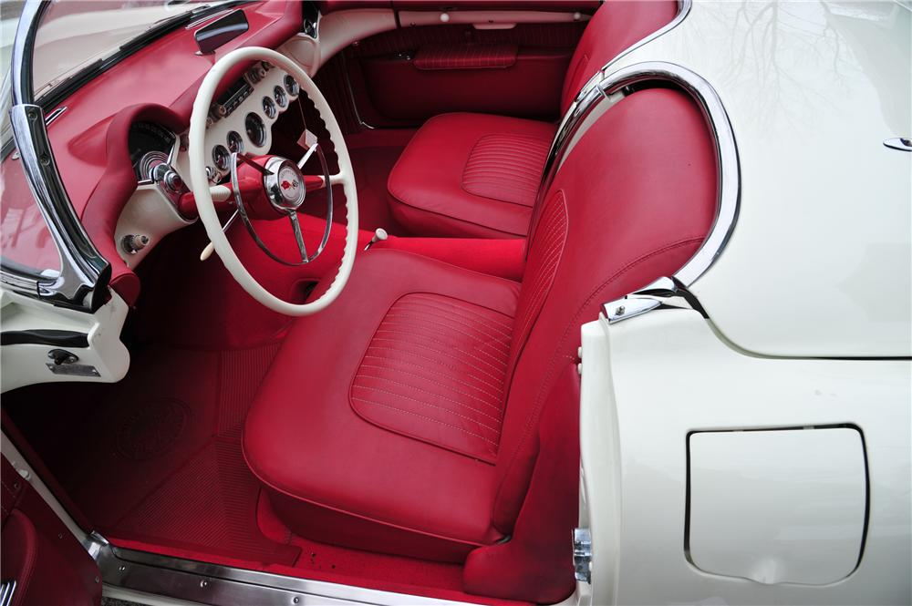 1954 CHEVROLET CORVETTE CONVERTIBLE - Interior - 97082
