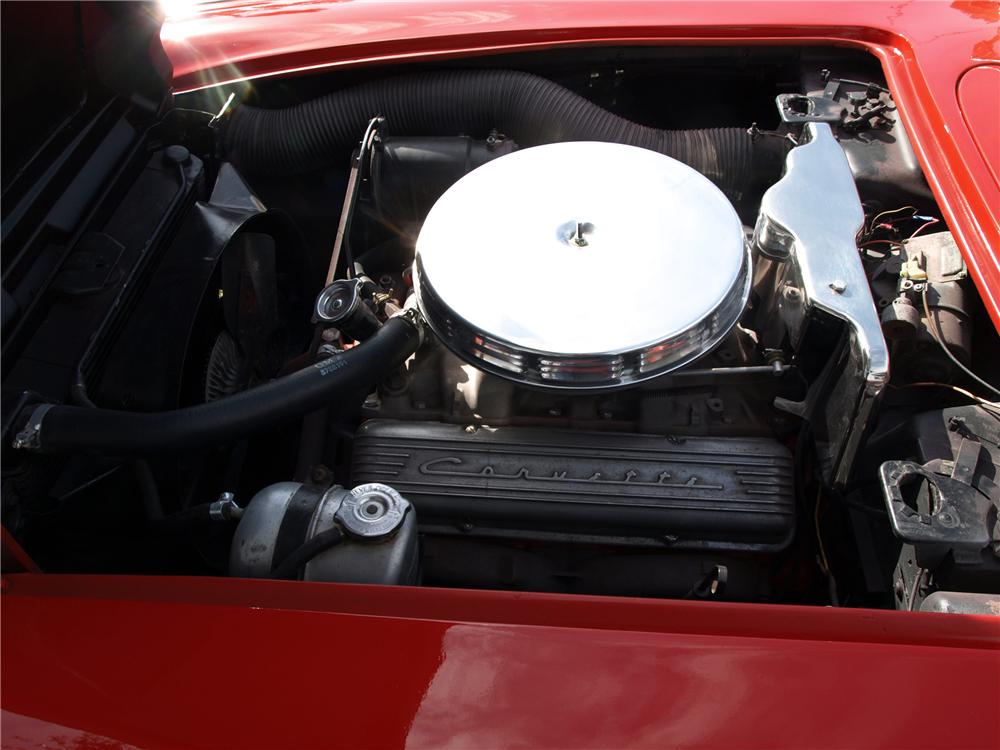1962 CHEVROLET CORVETTE CONVERTIBLE - Engine - 97088