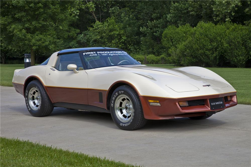 1981 CHEVROLET CORVETTE COUPE - Front 3/4 - 97216