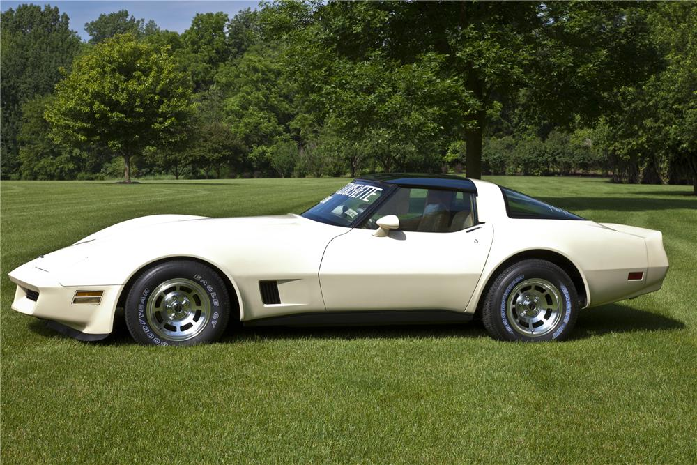1981 CHEVROLET CORVETTE COUPE - Side Profile - 97217
