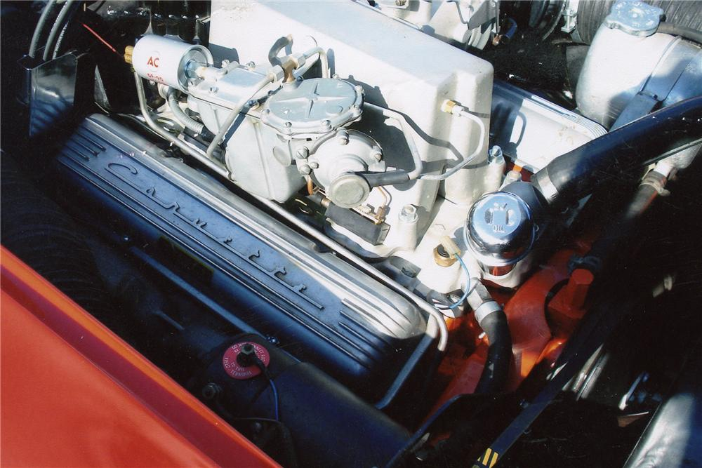 1962 CHEVROLET CORVETTE CONVERTIBLE - Engine - 97218