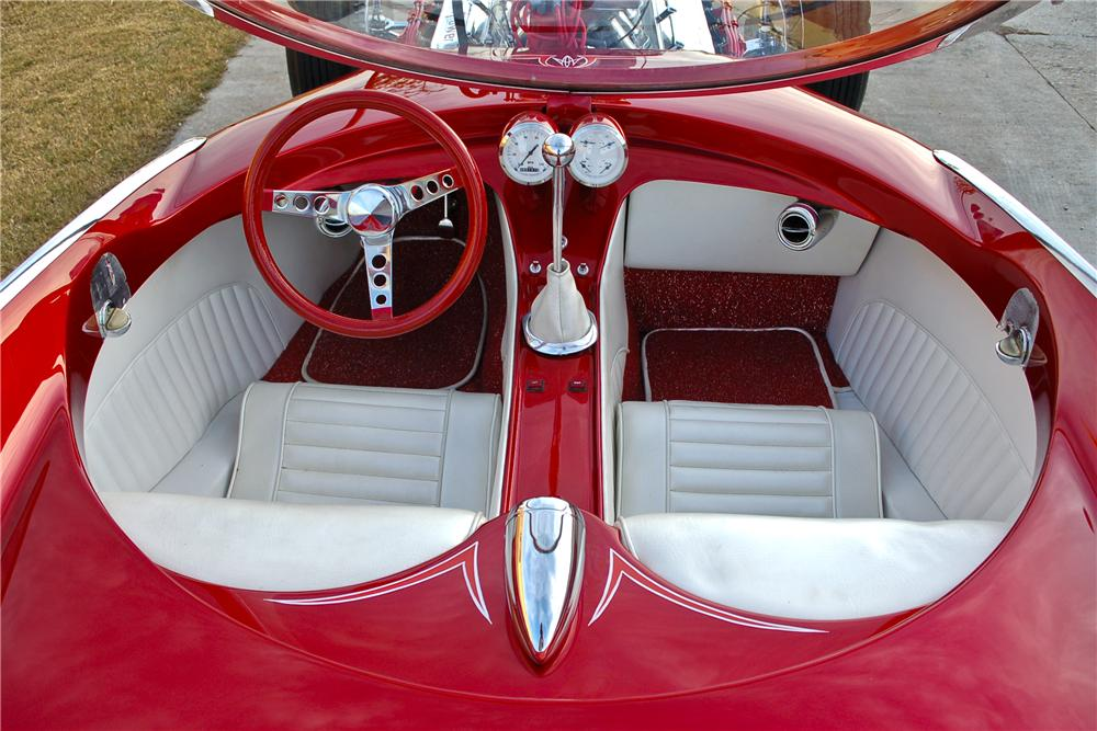 1959 PLYMOUTH ATOMIC PUNK BUBBLETOP - Interior - 97220