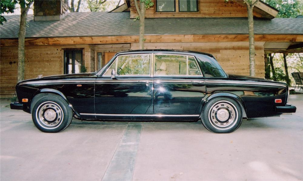 1980 BENTLEY T-2 4 DOOR SEDAN - Side Profile - 97222