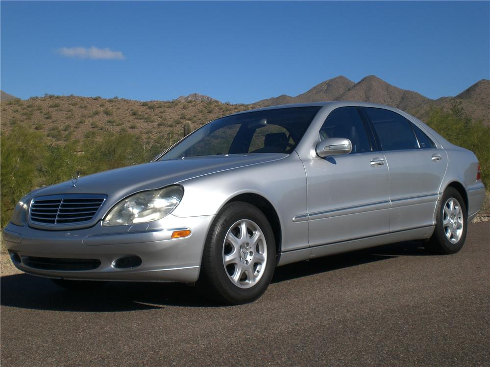 2002 MERCEDES-BENZ S430 4 DOOR SEDAN - Front 3/4 - 97228