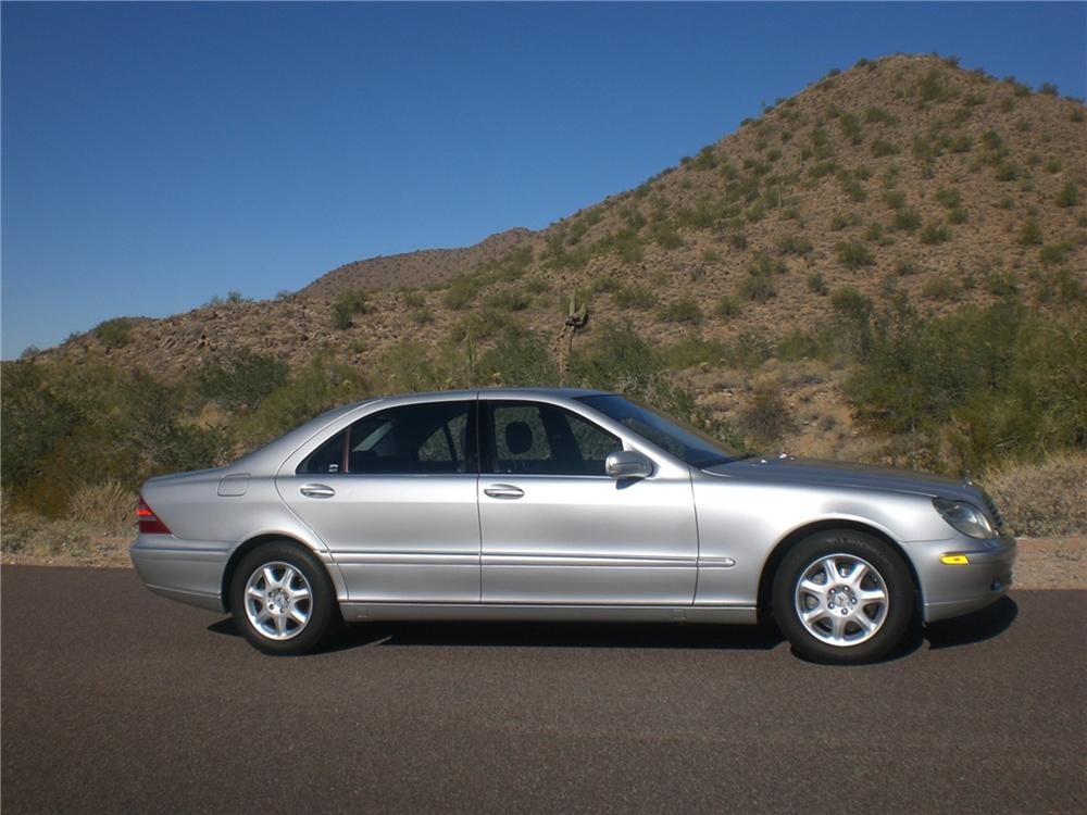 2002 MERCEDES-BENZ S430 4 DOOR SEDAN - Side Profile - 97228