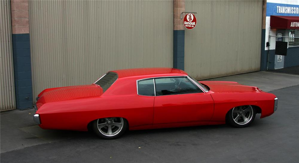 1969 CHEVROLET CAPRICE CUSTOM HARDTOP - Side Profile - 97231