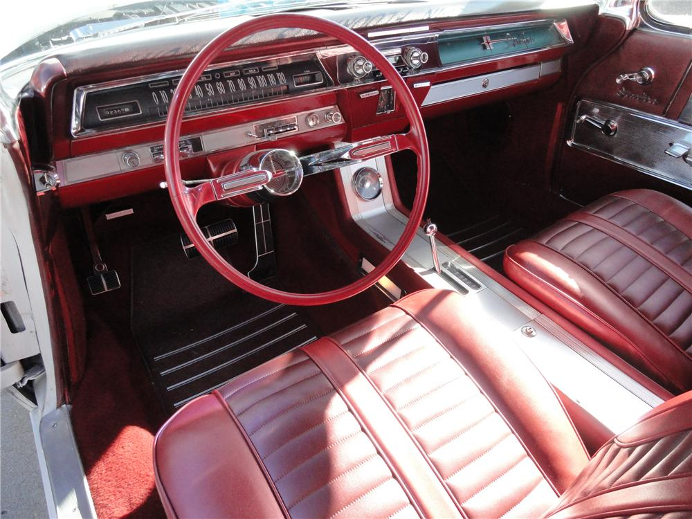 1962 OLDSMOBILE STARFIRE 2 DOOR HARDTOP - Interior - 97244