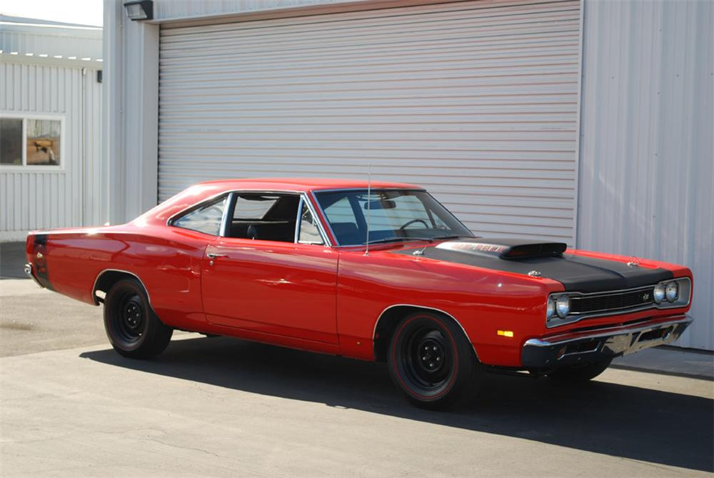 1969 DODGE SUPER BEE 2 DOOR HARDTOP - Front 3/4 - 97246