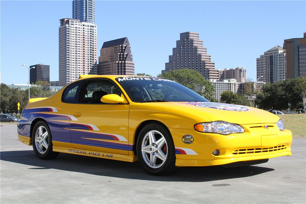 2004 CHEVROLET MONTE CARLO PACE CAR - Front 3/4 - 97251