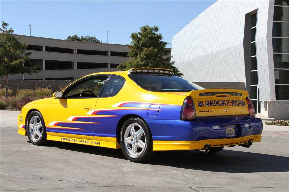 2004 CHEVROLET MONTE CARLO PACE CAR - Rear 3/4 - 97251