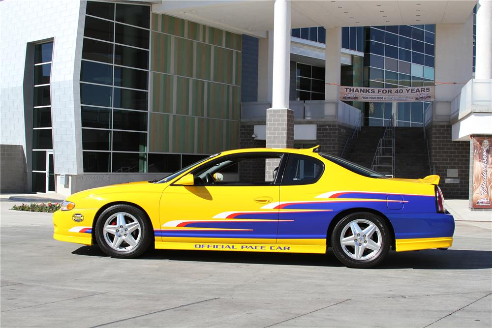 2004 CHEVROLET MONTE CARLO PACE CAR - Side Profile - 97251