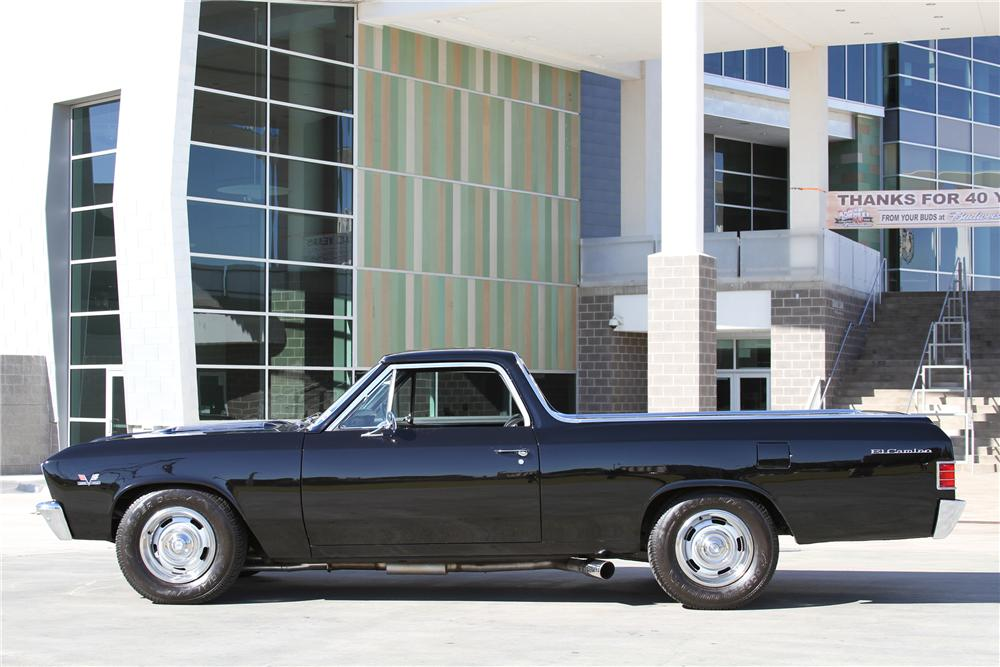 1967 CHEVROLET EL CAMINO PICKUP - Side Profile - 97253