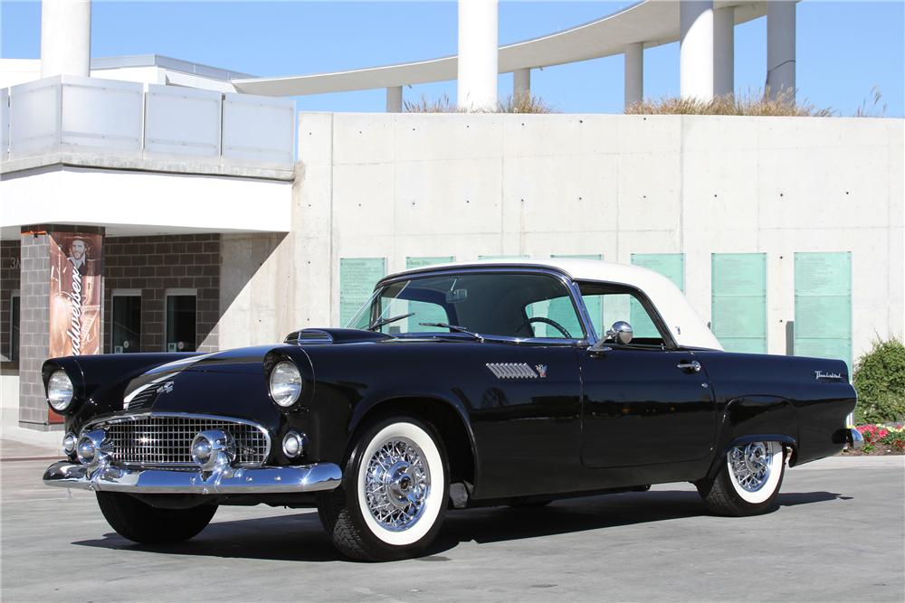 1955 FORD THUNDERBIRD CONVERTIBLE - Front 3/4 - 97254