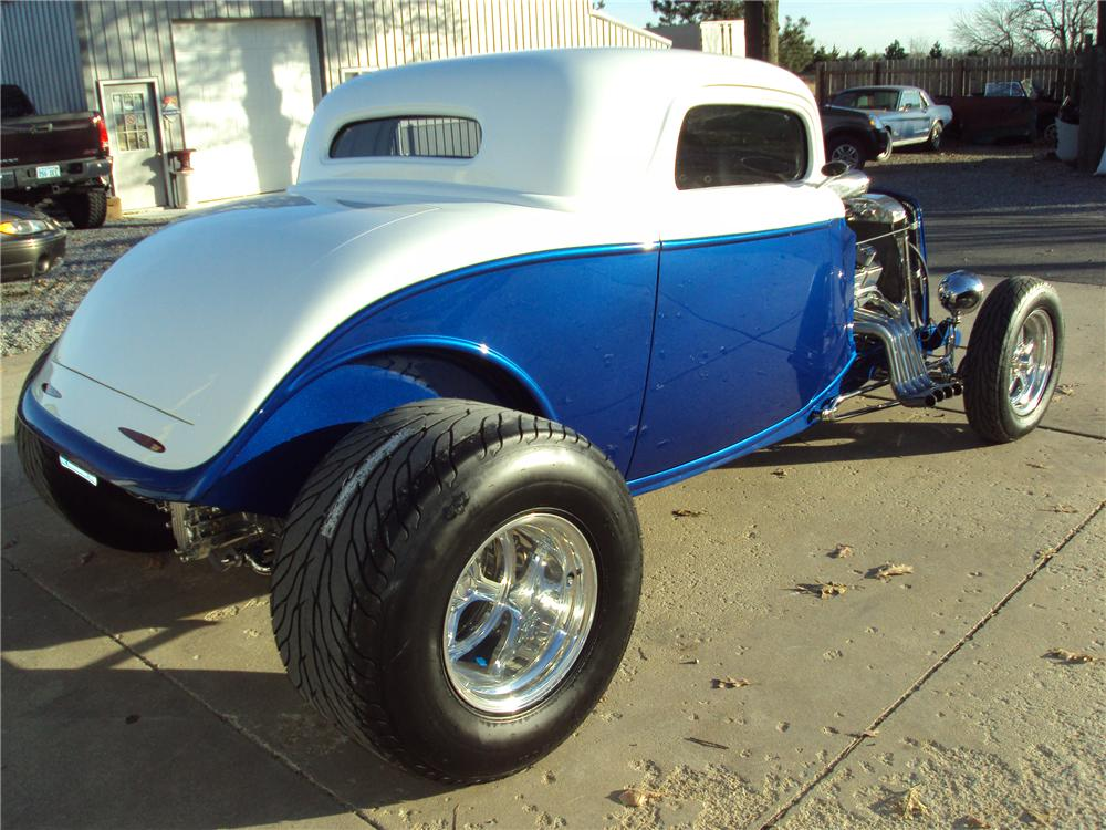 1934 ford 3 window custom 2 door coupe 97382 for 1934 ford 3 window coupe pictures