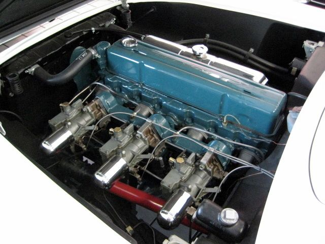1954 CHEVROLET CORVETTE CONVERTIBLE - Engine - 97384