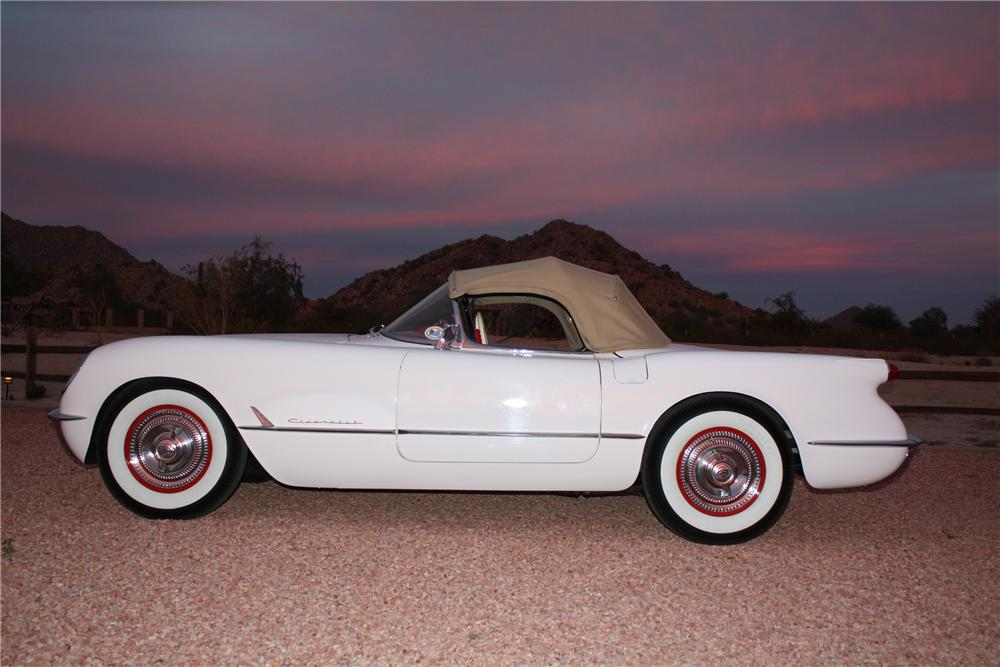 1954 CHEVROLET CORVETTE CONVERTIBLE - Side Profile - 97384
