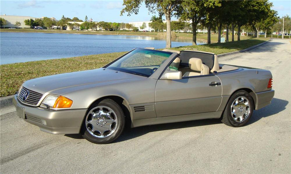 1994 MERCEDES-BENZ 500SL ROADSTER - Front 3/4 - 97385