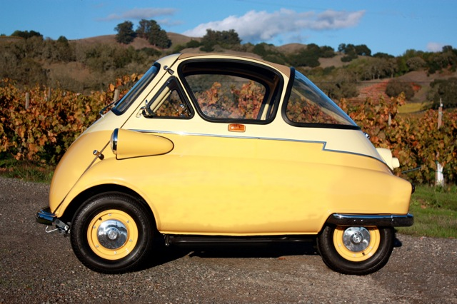 1956 BMW ISETTA CUSTOM COUPE - Side Profile - 97392