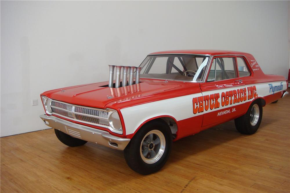 1965 PLYMOUTH BELVEDERE I SUPER STOCK - Front 3/4 - 97405