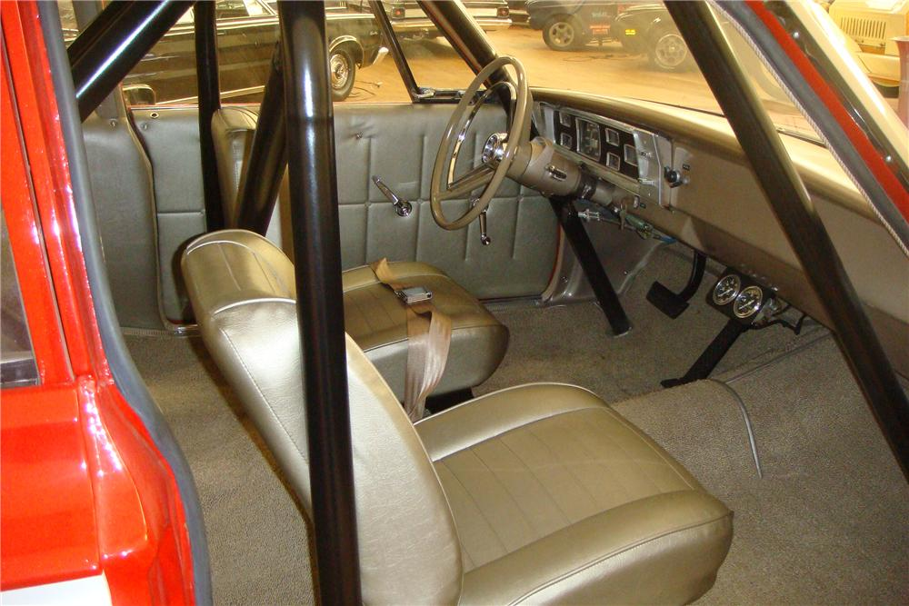 1965 PLYMOUTH BELVEDERE I SUPER STOCK - Interior - 97405