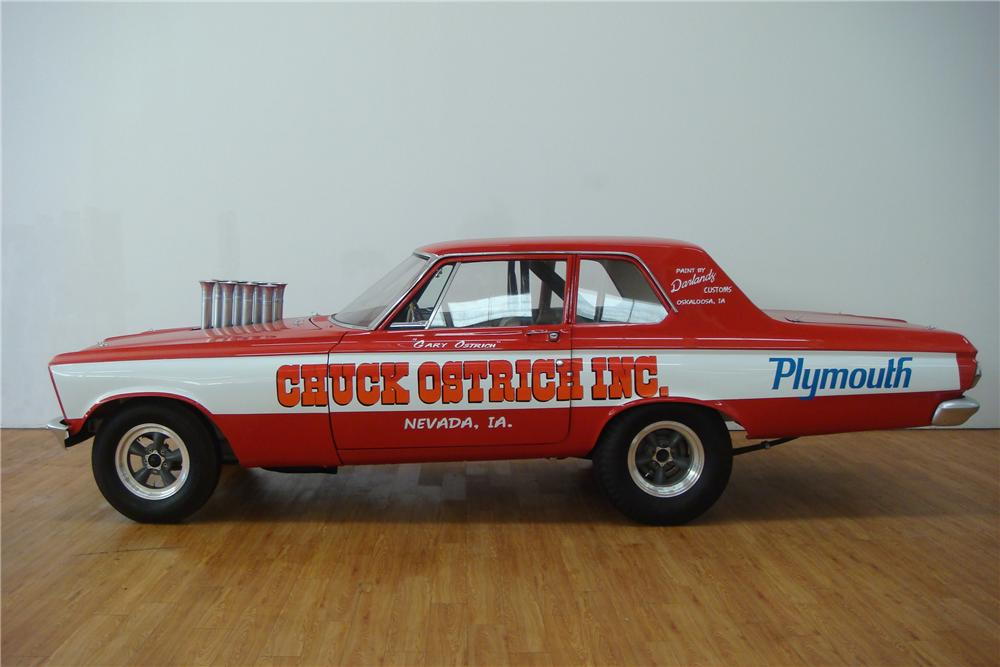 1965 PLYMOUTH BELVEDERE I SUPER STOCK - Side Profile - 97405