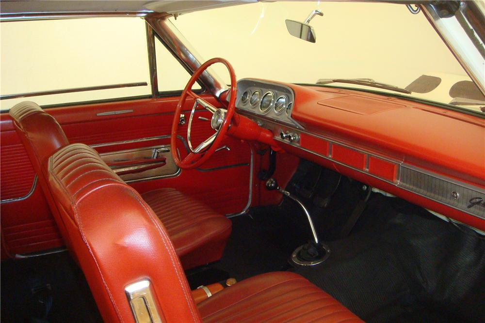 1963 FORD GALAXIE 500 2 DOOR HARDTOP - Interior - 97408