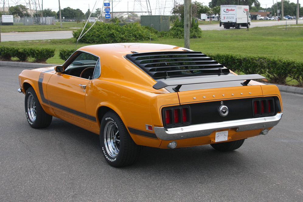 1970 FORD MUSTANG BOSS 302 FASTBACK - Rear 3/4 - 97410