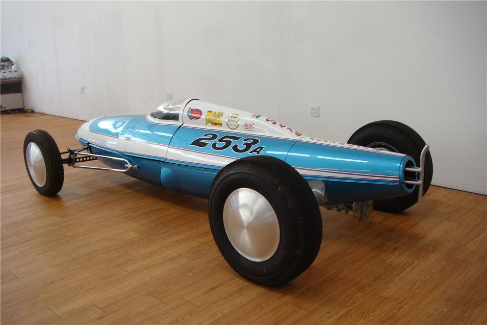 1948 DRY LAKES BELLY TANKER RACE CAR - Rear 3/4 - 97418