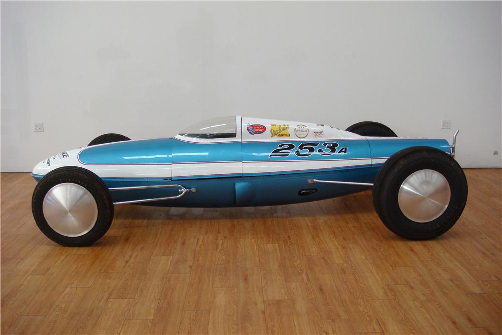 1948 DRY LAKES BELLY TANKER RACE CAR - Side Profile - 97418