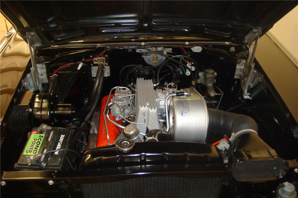 1957 CHEVROLET BEL AIR FI CONVERTIBLE - Engine - 97420