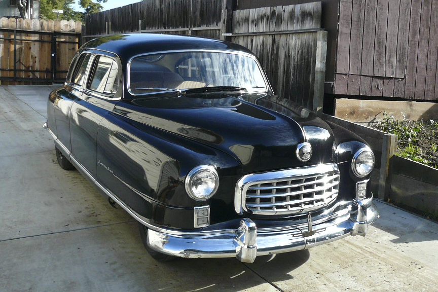 1950 NASH STATESMAN SUPER SEDAN - Front 3/4 - 97430