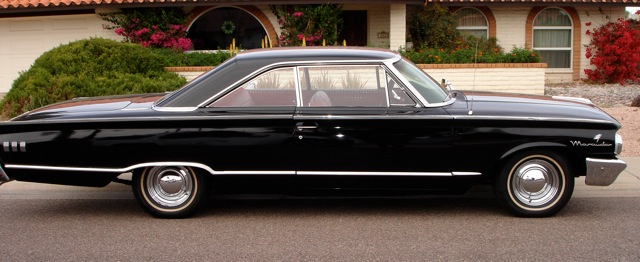 1963 MERCURY MONTEREY MARAUDER FASTBACK - Side Profile - 97433