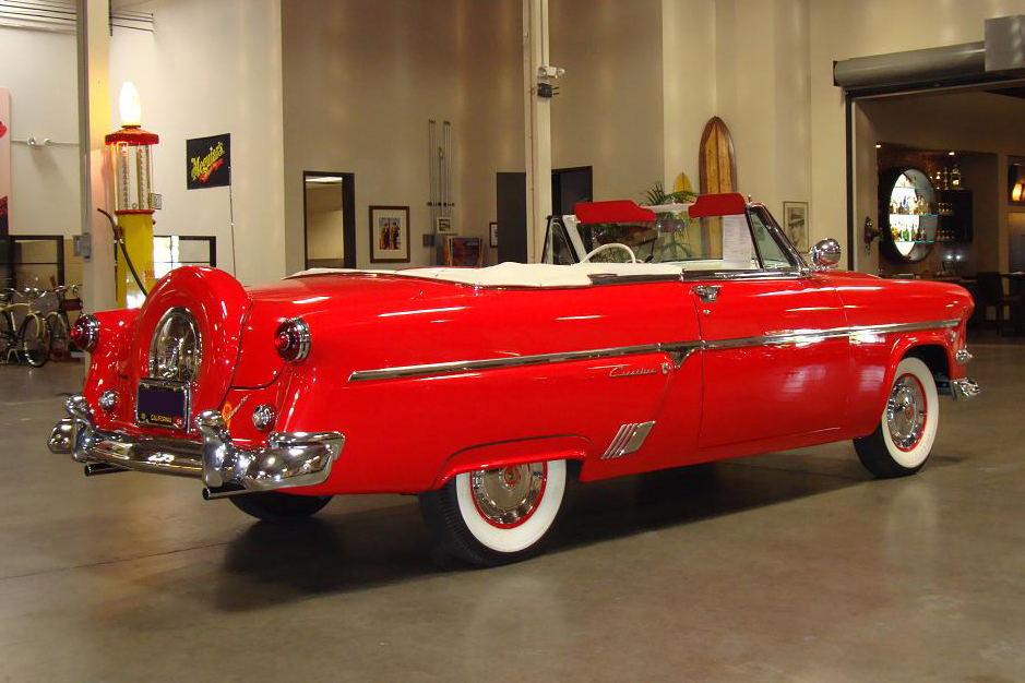 1954 FORD SUNLINER CONVERTIBLE - Side Profile - 97440