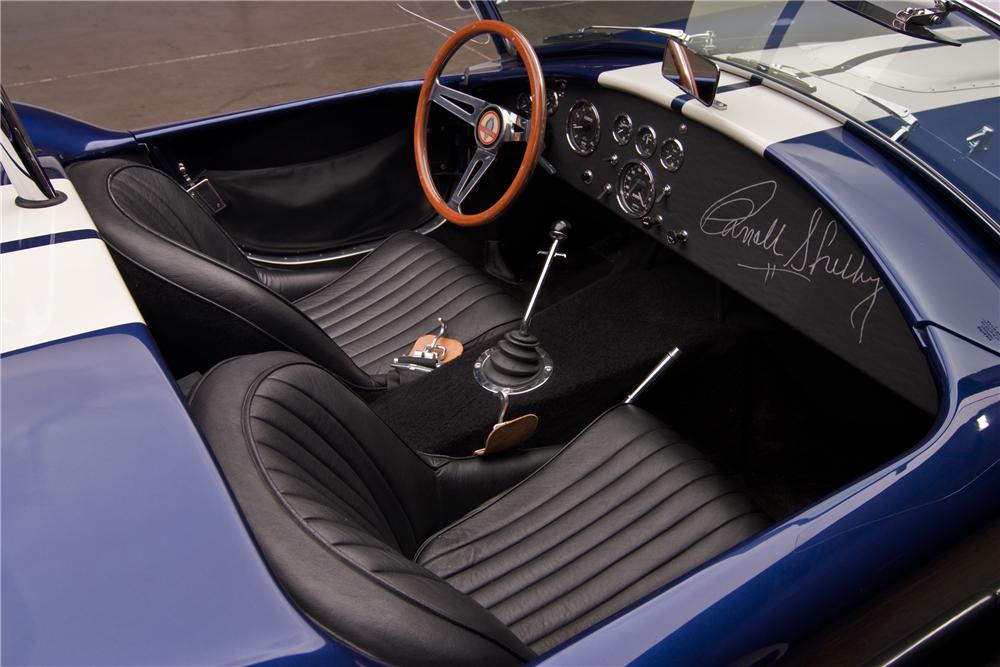 1965 SHELBY COBRA 4000 ROADSTER - Interior - 97441