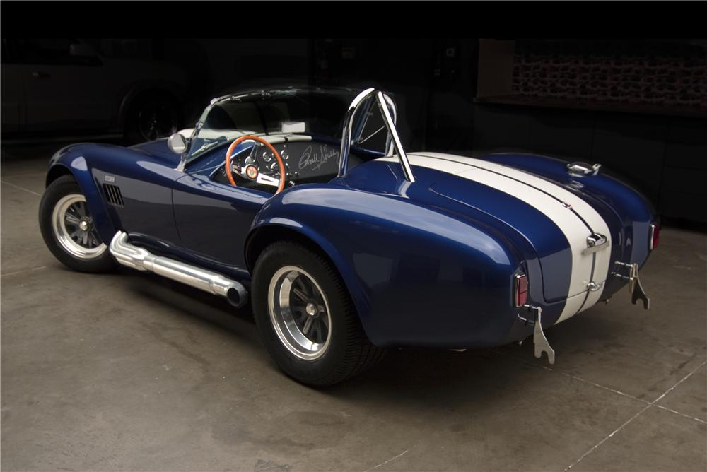 1965 SHELBY COBRA 4000 ROADSTER - Rear 3/4 - 97441