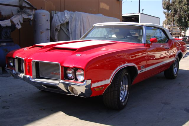 1972 OLDSMOBILE 442 W30 CONVERTIBLE - Front 3/4 - 97442
