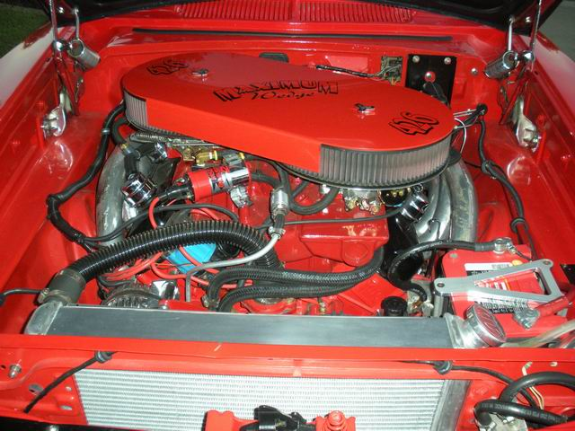 1963 DODGE 330 CUSTOM 2 DOOR COUPE - Engine - 97446