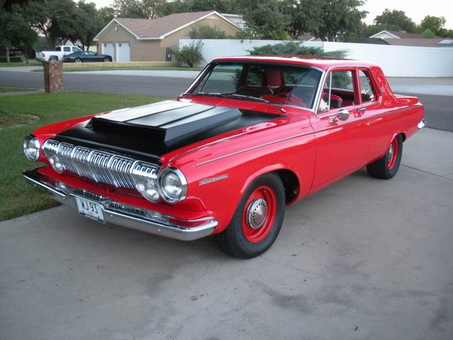1963 DODGE 330 CUSTOM 2 DOOR COUPE - Front 3/4 - 97446