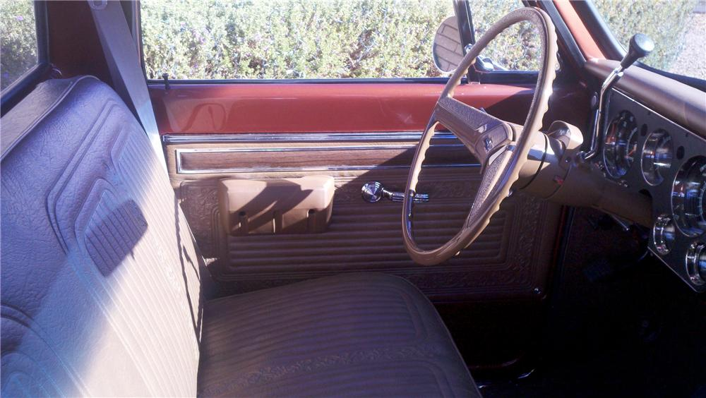 1970 CHEVROLET C-10 CUSTOM PICKUP - Interior - 97503
