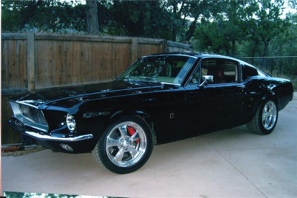 1967 FORD MUSTANG CUSTOM FASTBACK - Front 3/4 - 97504