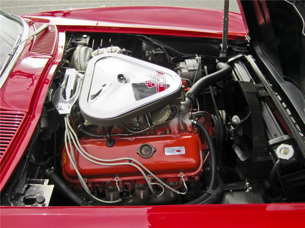 1967 CHEVROLET CORVETTE CONVERTIBLE - Engine - 97506